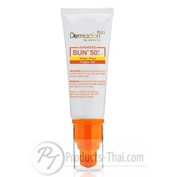 Dermaction Plus Advanced Sun Water Drop Cream Gel SPF50+PA+++ Sunscreen