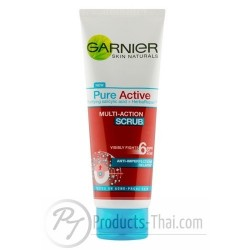 Garnier Pure Active Multi-Action Scrub (100ml)