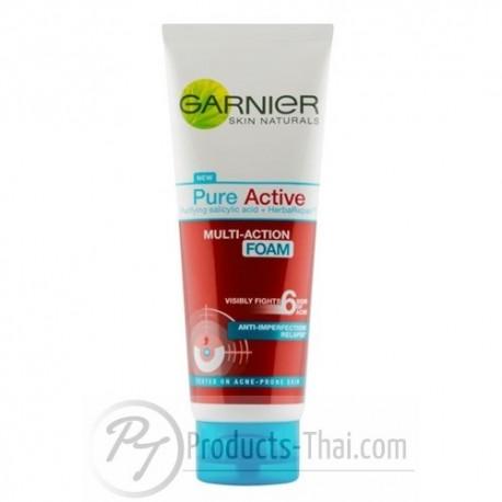 Garnier Pure Active Multi-Action Foam (100ml) Facial Wash