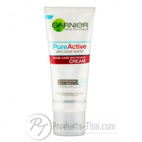Garnier Pure Active Anti-Acne White Whitening Cream (50ml) Facial Cream
