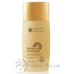 Oriental Princess Natural Sunscreen Brilliant UV Shield For Face SPF50+/PA+++ (50ml)