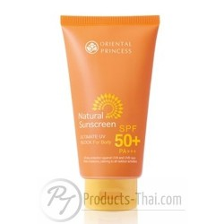 Oriental Princess Natural Sunscreen Ultimate UV Block for Body SPF 50+/PA+++ (150g)