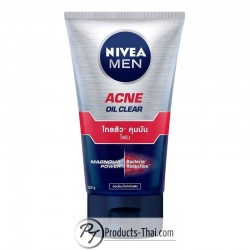 Nivea Men Acne Oil Clear Magnolia Power & Bacteria Reduction Facial Foam