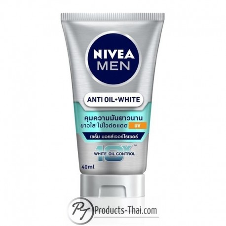 Nivea Men Anti Oil+White 10X White Oil Control UV Serum Moisturizer (40ml)