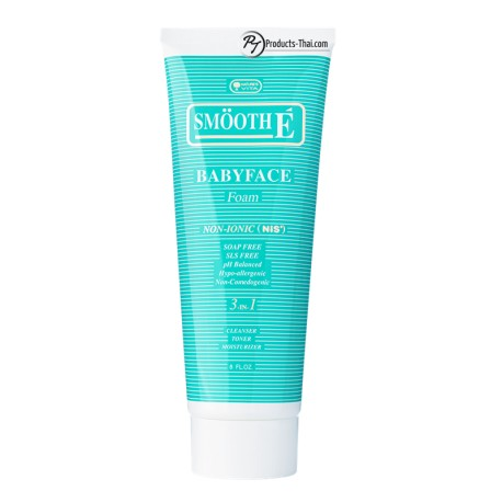 Smooth E Thai : Smooth E Babyface Foam Non-ionic (8oz)