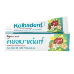 Thai Herbal Toothpaste : Kolbadent Pure Herbal Extract Toothpaste (Size 160 g.)