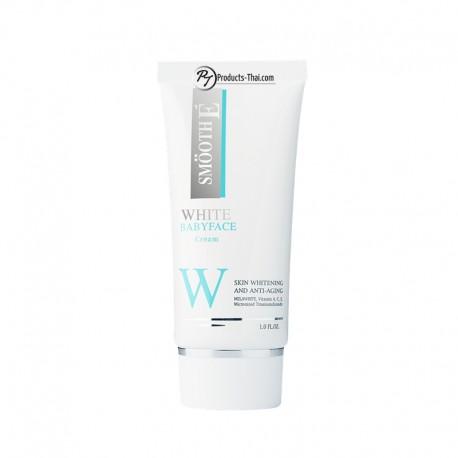 Smooth E Thai Cream: Smooth E White Babyface Cream (Size 1.0 oz.)