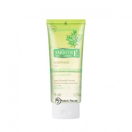 Smooth E Thai : Smooth E Babyface Extra Sensitive Cleansing Gel (Size 3.3 oz.)
