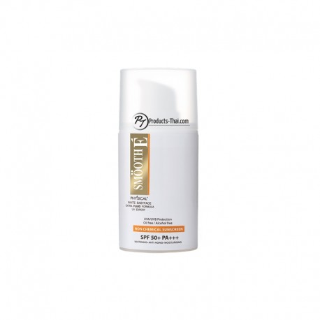 Smooth E Thailand Sunscreen : Smooth E Physical White Babyface UV Expert Extra Fluid Formula (Size 20g.)