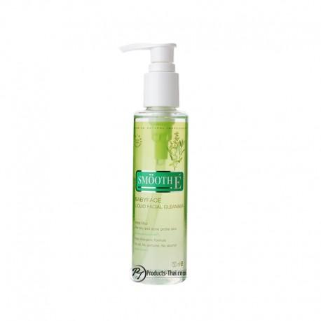 Smooth E Thailand : Smooth E Babyface Liquid Facial Cleanser (Size 150ml.)