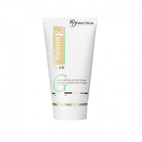 Smooth E Thailand : Smooth E Gold Anti-Aging & Whitening Facial Cleansing Foam (Size 4 oz.)