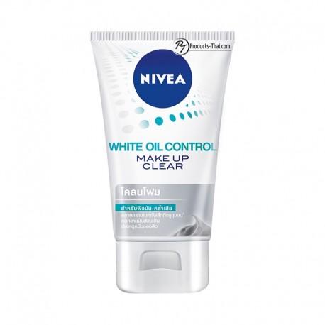 Nivea Thailand : Nivea White Oil Control Make Up Clear Mud Foam (Size 100g.)